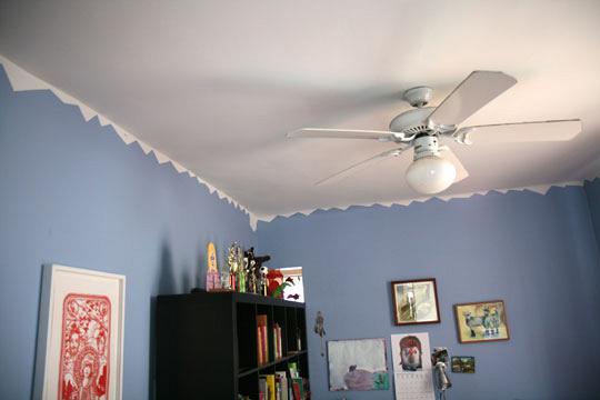 rdeco ceilings paint blue