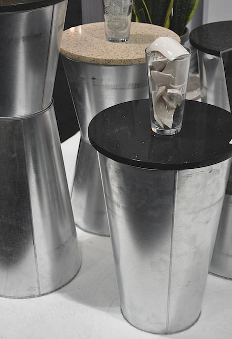 DIY: Galvanized Containers as Tables