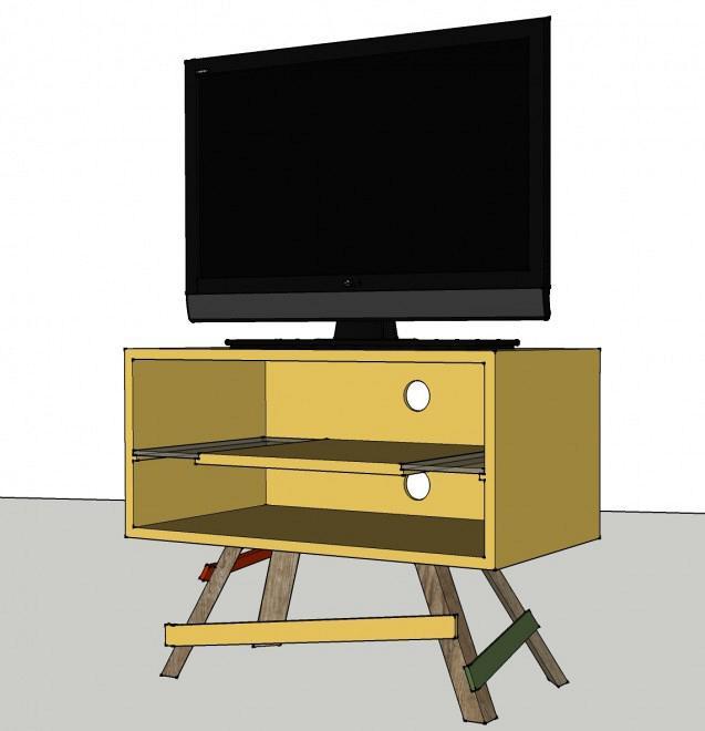 TV crate