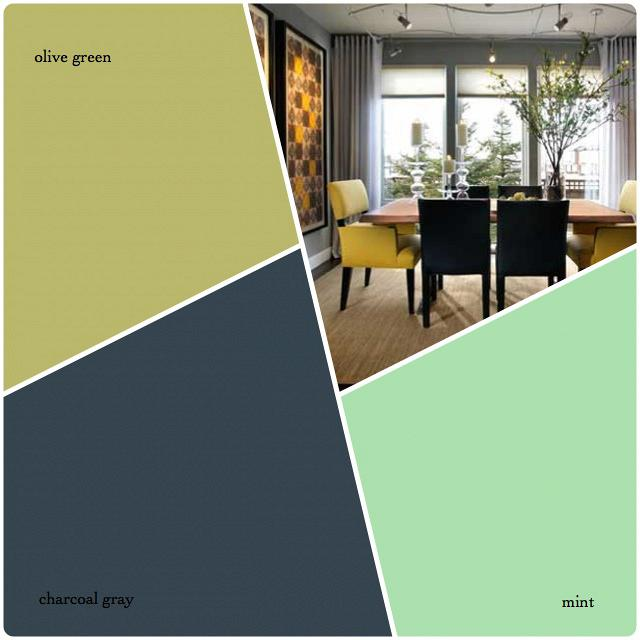 rdeco_olive green-mint-charcoal gray-χρωματική παλέτα