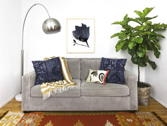 Καναπές πριν και μετά