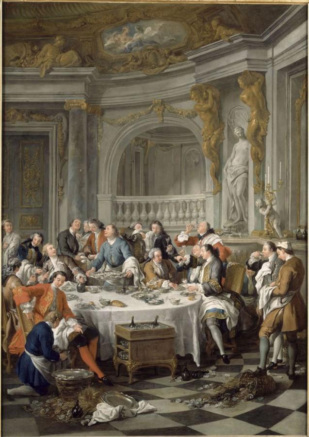 rdeco_Jean-François de Troy-Le déjeuner d'huitres_κουλτούρα