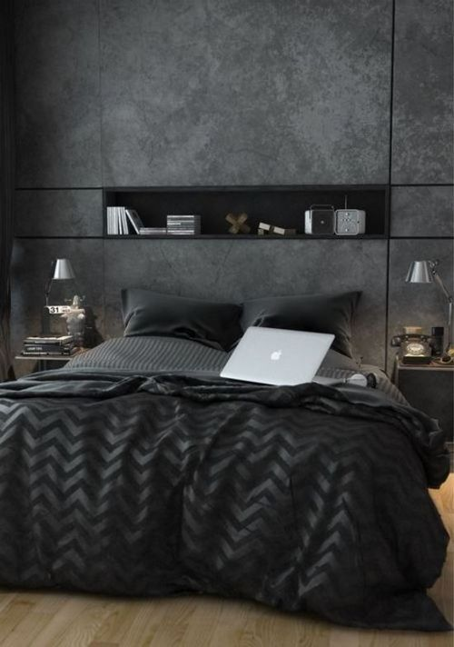 rdeco_black bedroom