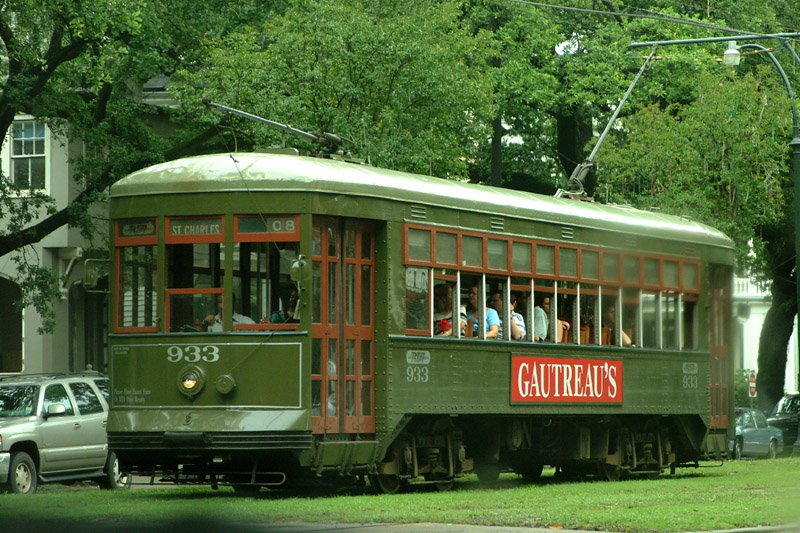 New Orlean tram - Travel with Rdeco