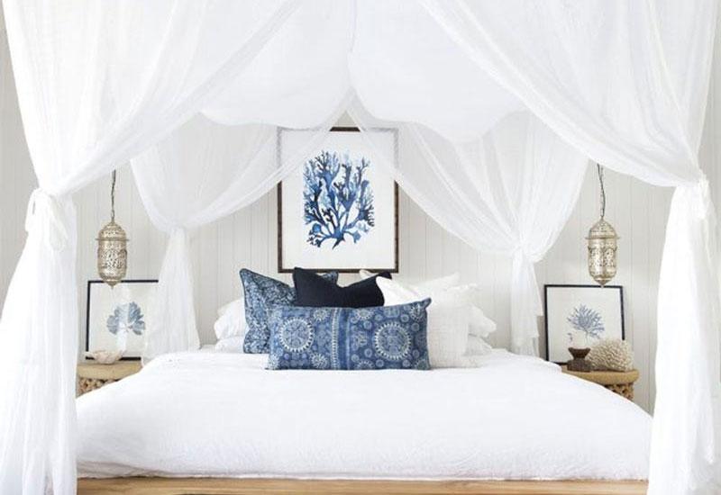 Διακόσμηση σε μπλε χρώμα με την Irene sleep