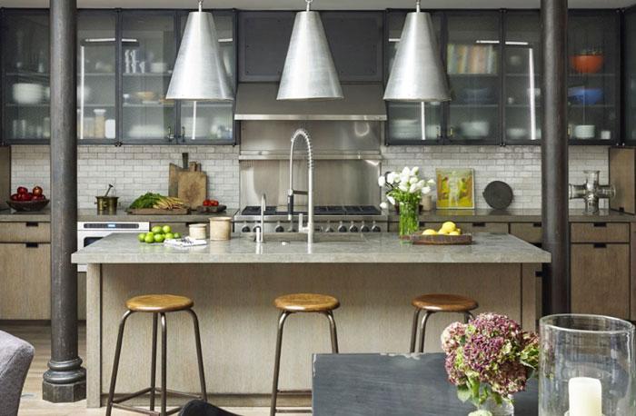 Βιτρίνες στην κουζίνα. Μια λύση φωτεινή, καλόγουστη και πρακτική