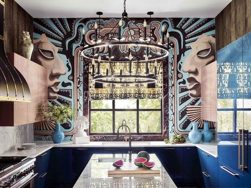 H κουζίνα της Michelle Nussbaumer